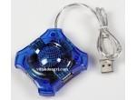 HUB USB 2.0 TRONG SUỐT - 4PORT
