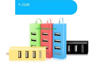 HUB USB 2.0 UNITEK Y2140 - 4PORT