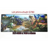 MOUSE PAD LỚN GAME G780 DÀY 5MM