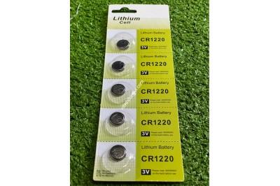 PIN CMOS CR1220 LITHIUM - VĨ 5 VIÊN