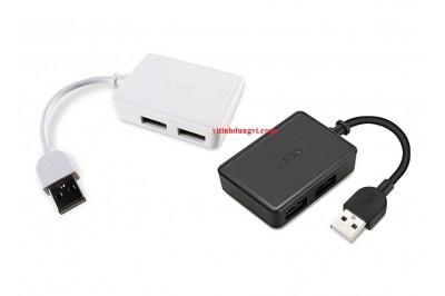 HUB USB 2.0 SSK SHU200 - 4PORT
