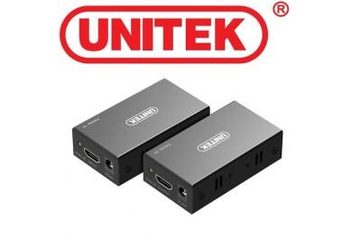 Bộ nối dài HDMI 60m to Lan Unitek V100a