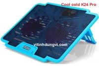 QUẠT TẢN NHIỆT LAPTOP COOLCOLD - K24 PRO