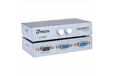 DATA SWITCH VGA 02PORT HiỆU DTECH - DT7032