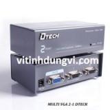 MULTI VGA 2PORT HIỆU DTECH - DT7252
