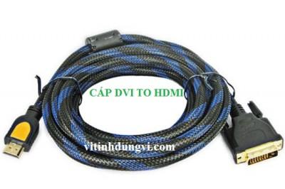 CÁP DVI  (24 -1) TO HDMI DÀI 1M5