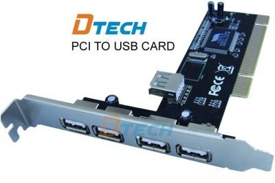 CẠC PCI USB HIỆU - DTECH