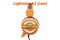 Tai nghe Lightning A2 LED - cam