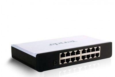 SWITCH TENDA 16PORT - HỘP NHỰA
