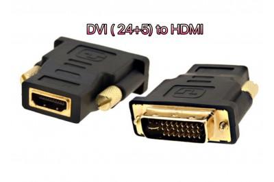 ĐẦU ĐỔI DVI (24+5) ra HDMI