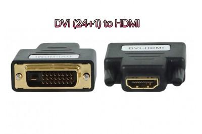 ĐẦU ĐỔI DVI (24+1) ra HDMI