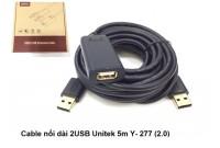 CÁP USB NỐI DÀI (2.0) UNITEK 5M - YC277