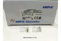 Hạt mạng RJ45 AMPLX  CAT 5e - tốt