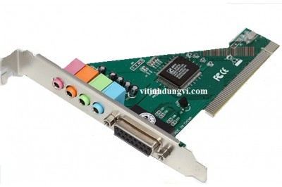 CẠC PCI SOUND 4.1 - BOX